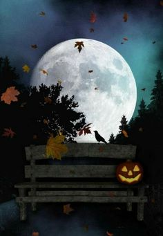 """Halloween Night"" Posters by Ashlie Nelson Halloween Prints, Halloween Pictures, Halloween Night, Spooky Halloween, Holidays Halloween, Vintage Halloween, Halloween Pumpkins, Happy Halloween, Halloween Decorations"