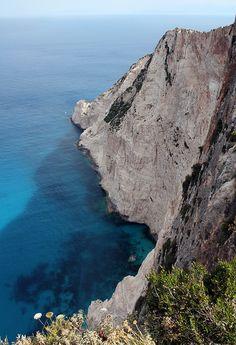 Coastline Zakynthos. Zante. Greece.