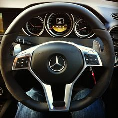 Mercedes C63 AMG. Lush.