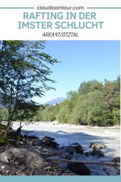 Wer einen Kurzurlaub in der AREA47 im Ötztal macht, der sollte unbedingt auch zum Rafting in der Imster Schlucht. #rafting #area47