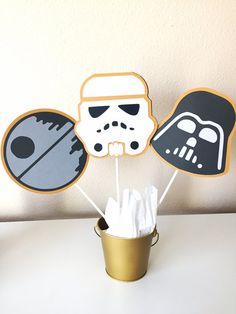Free Shipping 12 Star Wars Centerpiece by thepartyprojectshop