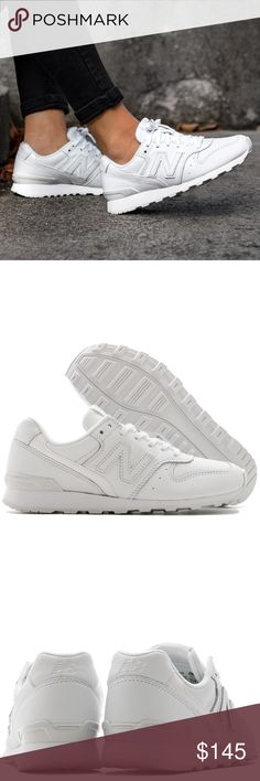 New Balance WR996JS White Sneakers BRAND NEW IN BOX. WOMEN'S SIZE 5.5 // White // Style WWR996JS // *Labeled as 5.5 wide, but will also fit regular*. Purchased from Canada, and I don't think they sell these exact style in the U.S. // NO LOWBALLING. I don't mind keeping these at all if they don't sell for asking price. New Balance Shoes Sneakers