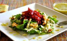 Roasted Beet, Fennel, Arugula & Walnut Salad with Leek Vinaigrette — Ordinary Vegan