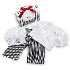 The Coolest Baby Clothes Spring Summer 2013 - Baby Aspen Big Dreamzzz Baby Chef Layette Set with Gift Box