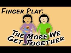The More We Get Together (sign language fingerplay song for children) Sign Language Songs, Sign Language For Kids, Sign Language Interpreter, British Sign Language, Learn Sign Language, Language Lessons, Preschool Songs, Kids Songs, Preschool Teachers
