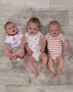 3 Pack Unisex Star Orange Sleepsuits-   http://www.theessentialone.com/unisex-baby-clothes/3-pack-baby-unisex-star-bodysuits-vests-orange-ess141.html