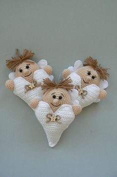 Ravelry: Little Valentine Angel with Heart pattern by Katka Reznickova