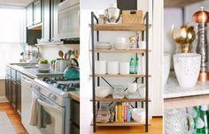styling for kitchen shelf