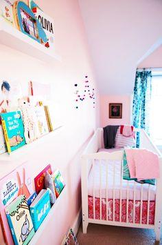 Modern Baby Girl Nursery  |  amy williams photography