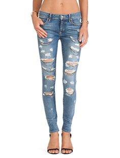 Lovers + Friends Lovers + Friends Ricky Skinny Jean in Division