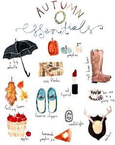 Autumn essentials!!