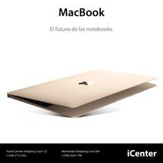 Apple presentó la nueva MacBook. Esta es la Mac portátil mas compacta hasta el momento http://www.apple.com/la/macbook/