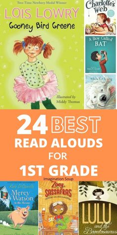 The Best Read Aloud Books for First Grade | Imagination Soup