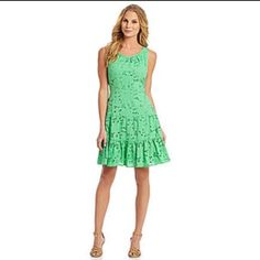 Antonio Melani Lia Mint Eyelet Spring Dress Spring has spring and this adorable mint green, fully lined, eyelet dress is the perfect way to usher it in. 100% Cotton shell and lining. 15% off bundle discount. ANTONIO MELANI Dresses Mini