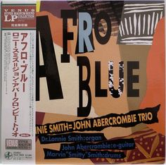 LONNIE SMITH / JOHN ABERCROMBIE / AFRO BLUE / JAZZ / VENUS RECORDS JAPAN OBI
