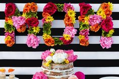 Floral Letters DIY for Mother's Day