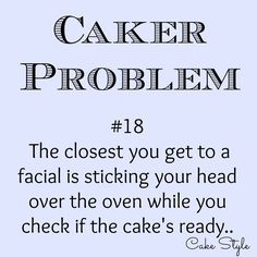 Never had a 'real' facial lol.. #cakerproblems #cakestyle www.youtube.com/user/cakestyletv