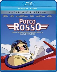 Studio Ghibli Blu-Rays: Porco Rosso, Arrietty on November 21 Michael Keaton, Susan Egan, Normal Movie, David Ogden Stiers, Kimberly Williams, Cary Elwes, The Cat Returns, Lupin The Third, Anime Reviews
