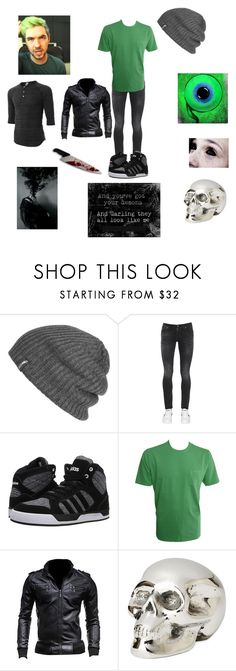 """Antisepticeye"" by aliciakreb ❤ liked on Polyvore featuring Outdoor Research, Nudie Jeans Co., adidas, LE3NO, Tommy Bahama, Jan Barboglio, men's fashion and menswear"