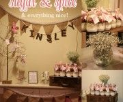 sugar and spice and everything nice baby shower
