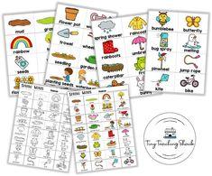 spring word wall flashcards Descriptive Writing Activities, Writing Skills, Writing Ideas, First Grade Writing, First Grade Classroom, Kindergarten Language Arts, Kindergarten Activities, Writing Folders, Spring Words