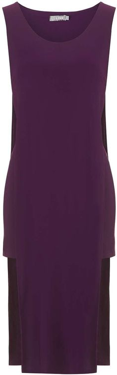 Womens plum dress from Topshop - £36 at ClothingByColour.com