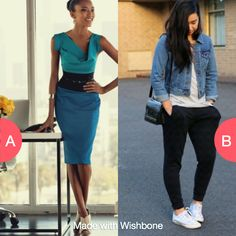 Dress up or don't care? Click here to vote @ http://getwishboneapp.com/share/707347