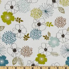 $8.98 Birds And Blooms Full Bloom White/Multi
