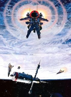 A collection of the best works from acclaimed sci-fi artist Robert McCall.