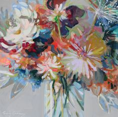 originals - ERIN GREGORY Erin Gregory, Landscape Paintings, Floral Paintings, Painting Flowers, Colorful Flowers, Painting & Drawing, Fine Art, Abstract, Drawings