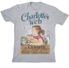 Charlotte's Web / 21 Perfect T-Shirts For Book Lovers