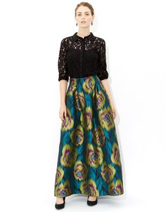 Elfina Maxi Skirt love the colors- probably would not wear
