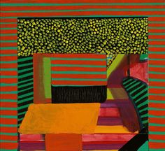 Howard Hodgkin I Lunch Light Painting, Painting & Drawing, Painting Prints, Howard Hodgkin, Rainbow Painting, Contemporary Paintings, Painting Inspiration, Art Lessons, New Art