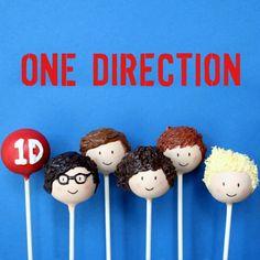 1D CAKE POPS!!! 1 Direction Cakes, One Direction Birthday, Harry Styles Birthday, Estilo One Direction, Cake Pops, Karaoke Party, Birthday Party Themes, 9th Birthday, Birthday Ideas