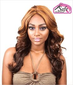 Isis Red Carpet Futura Lace Front Wig  Ellen Shown in Color #F3170