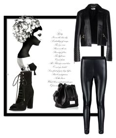 """"""":)"""" by selmaadis ❤ liked on Polyvore featuring Versace and Kendall + Kylie"""