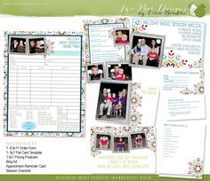 Holiday Mini Session Marketing Kit by Carrie
