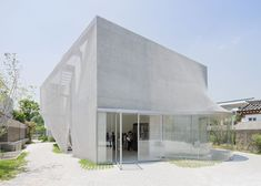 This art gallery in Seoul by New York architects SO-IL is draped in a veil of chain mail.