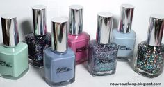 Nouveau Cheap: Review & Swatches: Pure Ice Nail Colors