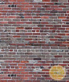 Red & Grey Brick (5x8)