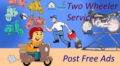 Do you want know about the 2 Wheeler Service providers nearby your area? Click here for details