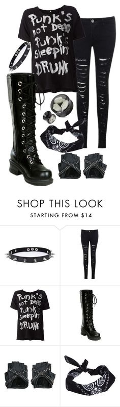 """Punk"" by ticci-toby ❤ liked on Polyvore featuring Trend Cool, R13, Nana' and ASOS"