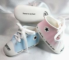 1208acc70ad5 Let Treasured Baby Steps take care of all your personalized porcelain  keepsakes. From baby shoes & booties to picture frames, we have all  keepsakes you need
