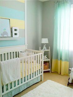 Beautiful gray wall color