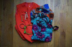 Accessoires en wax, robe sixties, porte-sacs publicitaires... Les trouvailles de Riri la Brocante #3