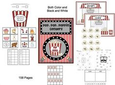 This is a great center and small group activity pack.  I have included both black and white for all the activities.  158 pages (including both b Teaching Tools, Teacher Resources, Teaching Ideas, Classroom Resources, Classroom Ideas, Small Group Activities, Preschool Activities, Speech And Language, Language Arts