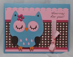 cricut card idea.. with a different little character on front!
