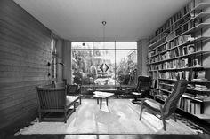#blackandwhite#livingroom#window#vintage#bookshelf#chair