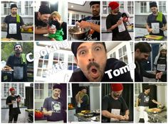 #MARScollage | Take some tips on #CookingWithTomo and be ready to cook with #TomoMilicevic in Camp Mars. #30secondstomars