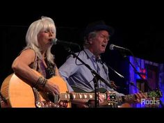 "▶ Emmylou Harris & Rodney Crowell ""Love Hurts"" - YouTube"